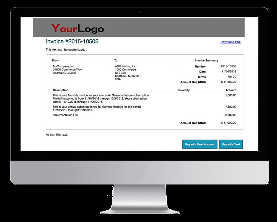 subscription invoicing quickbooks